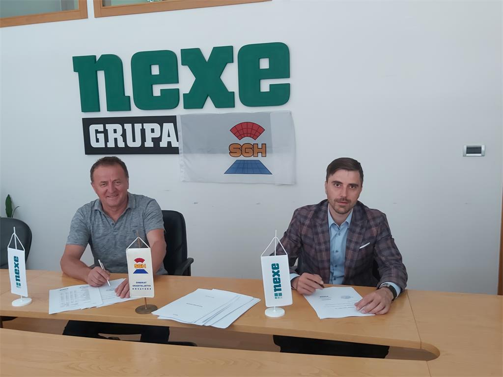 New Collective agreement for NEXE d.d.