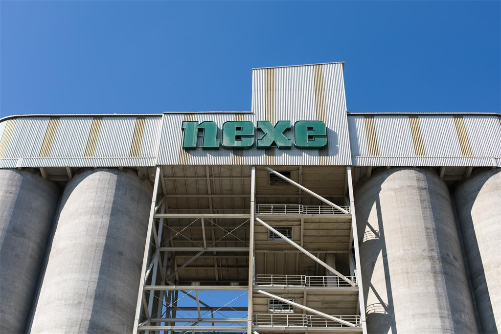 Change of company's corporate name from Našicecement d.d. to NEXE d.d.